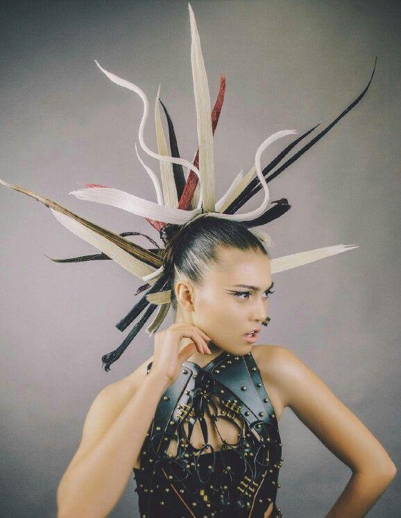 Bleep Magazine January 2014 Hair & Makeup: Walter Fuentes | WAFU Artistry Photo: Amanda Williams Styling: Juan Lerma Model: Diana Carl