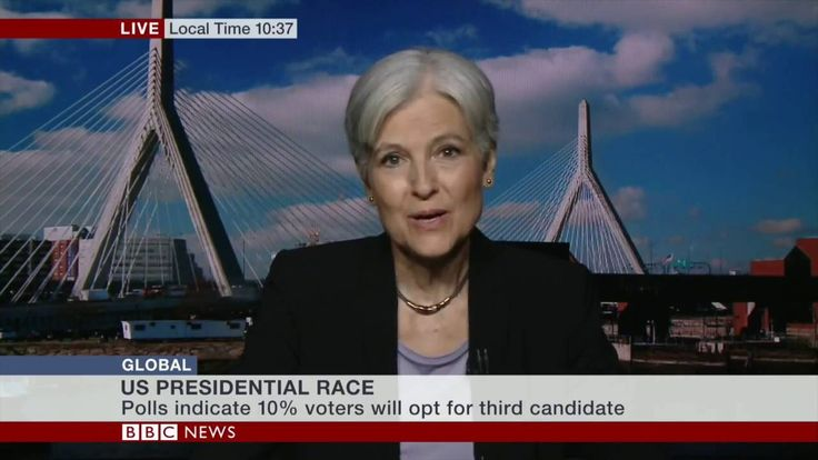 "Self-important BBC interviewer crushed by Jill Stein, US Green Party candidate for President | FactPointVideo | Published Aug 13, 2016 | https://youtu.be/CXDf2aqek6U | ""August 12, 2016, BBC News interview with Dr. Jill Stein, the Green Party candidate for President of the United States of America."" Click to watch and share video (16:27)."