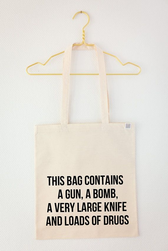 This bag contains... by sewjunk on Etsy, €22.00