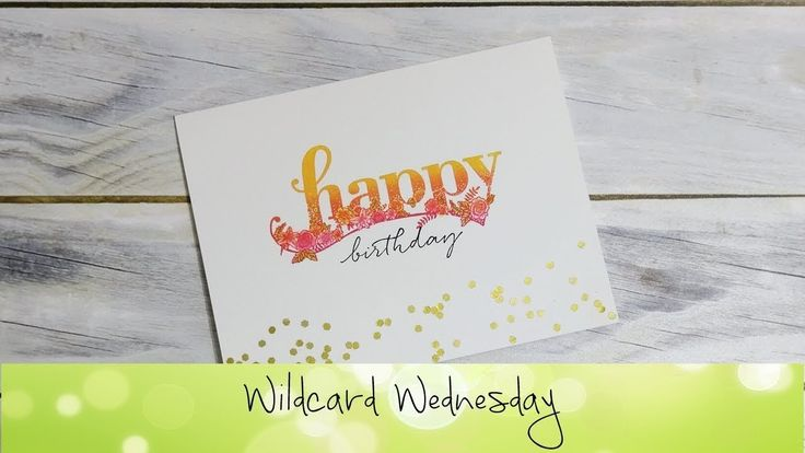 Happy WIshes Card featuring Stampin' Up!® Products