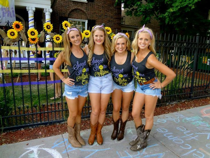 Redneck girls sorority school — img 9