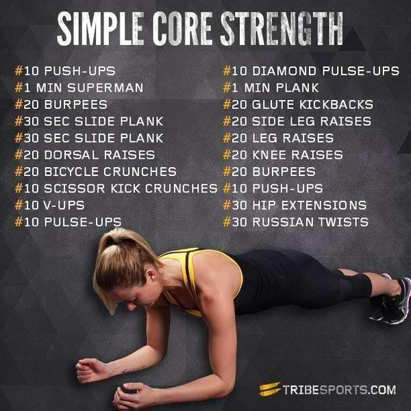 Simple Core Strength