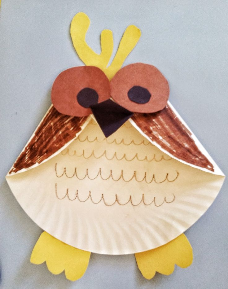 Paper Plate Owl Craft Heres A Fun Activity For Kids This Fall Easy Is Made With Items You Already Have On Hand