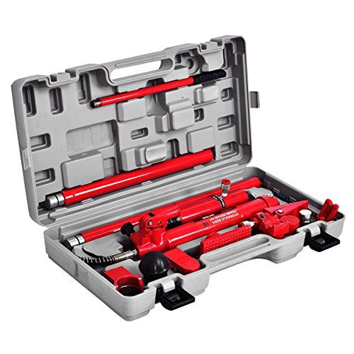 10 Ton Porta Power Hydraulic Jack Body Frame Repair Kit Auto Shop Tool Heavy Set Learn More By Visiting The Image Link This Auto Body Car Shop Pumping Car