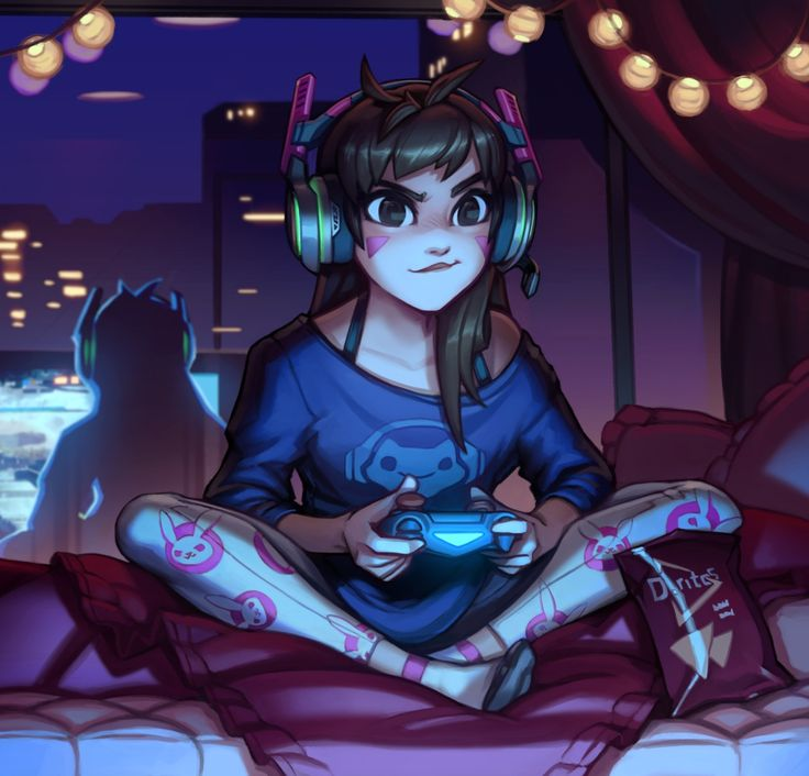 thecomicninja: Gamer Girl by Kienan Lafferty