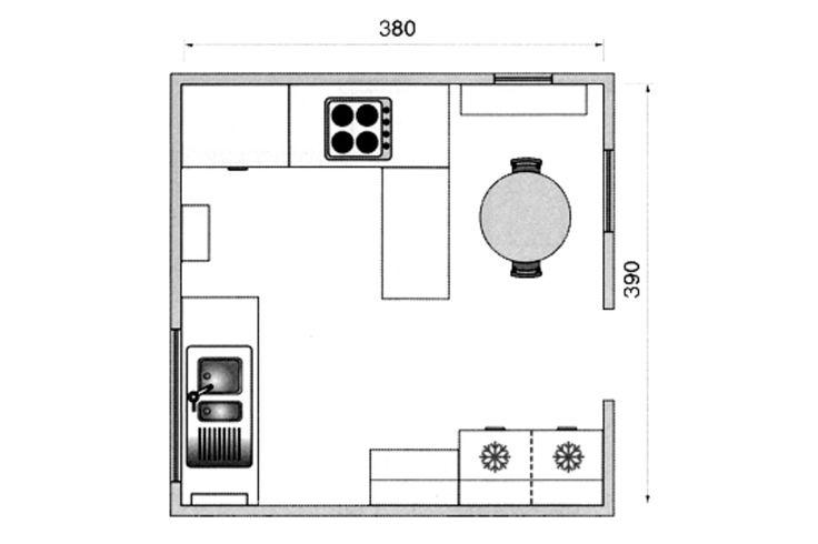 13 best cuisine images on Pinterest Kitchen dining living, Kitchen - espace entre plan de travail et meuble haut