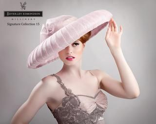 This stunning pink hat would be perfect for an occasion like Ascot or for the mother of the bride at a wedding, but would look equally as fabulous at a Royal event or a garden party. ISSUU - Beverley Edmondson Millinery