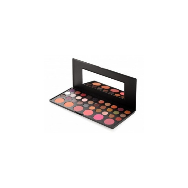 BH Cosmetics 36 Color Eyeshadow and Blush Palette (545 RUB) found on Polyvore