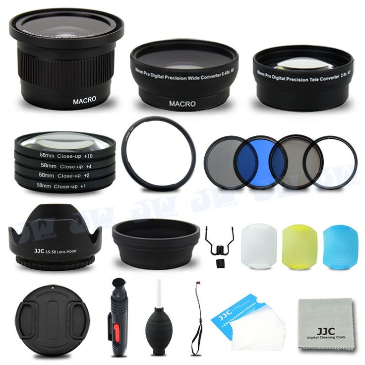 Essential Lens Set Close-up Filters Kit for Canon PowerShot SX50 SX60 SX520  HS #NB