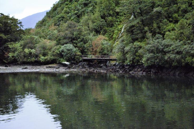 Bridge at Milford Sound, NZ