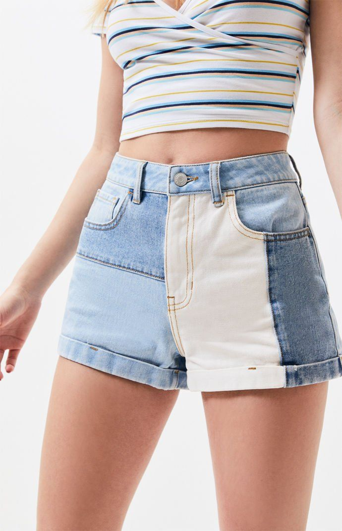 6c0d6c72 Hopper Patch Denim Mom Shorts | PacSun | online shopping in 2019 ...