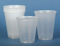 NON030035 Medline 2500 EA/CS,50 BG/CS,25 PK/CS CUP,PLASTIC,3 1/2 OZ,TRANSLUCENT Medline NON030035