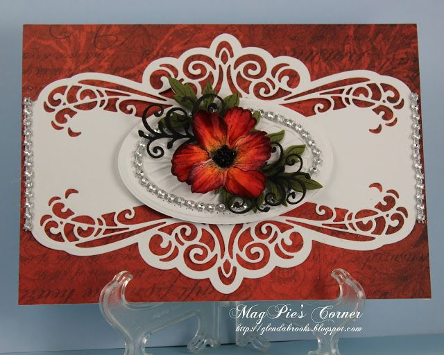 MagPie's Corner : Poppy Card.....