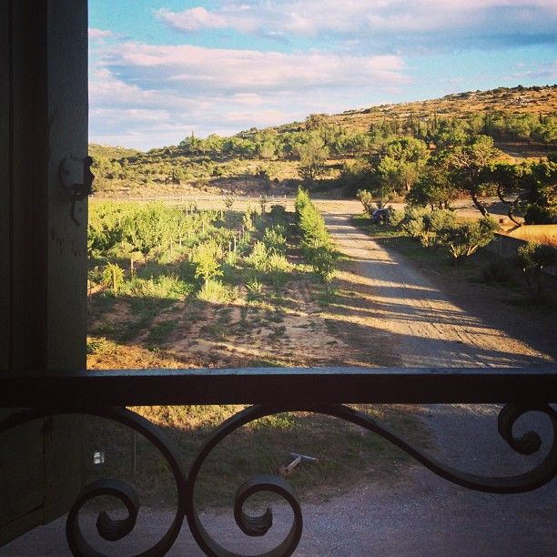 @confituredevivre Instagram photos | view from my room at Château L'Hospitalet - so peaceful