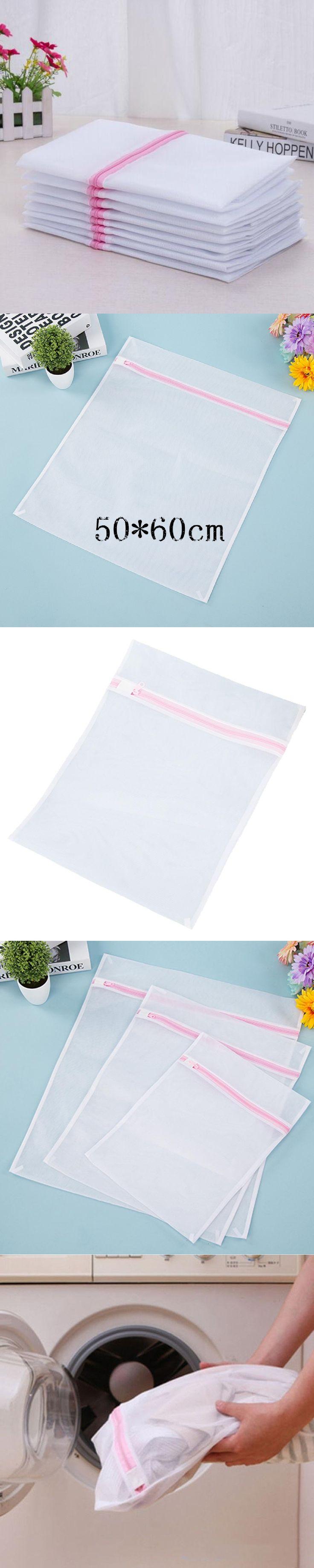 Laundry Wash Bags Foldable Delicates Lingerie Bra Socks Underwear Washing Machine Clothes Protection Net
