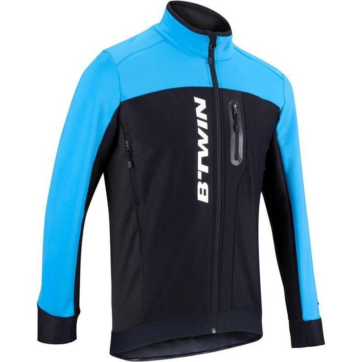85,99€ - Radsport_BekleidungHelmeSchuhe - Fahrradjacke 700 Herren schwarz/blau - B'TWIN