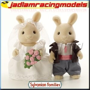 £11.80 Wedding Bride and Groom - SYLVANIAN Families Figures 4582 | eBay