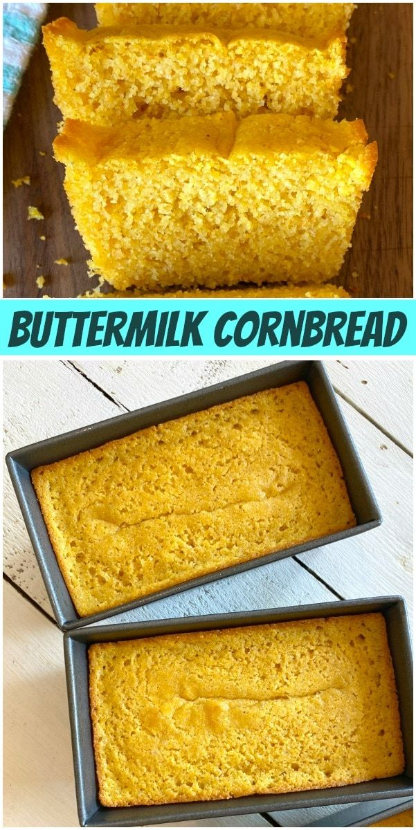 Buttermilk Cornbread Recipe In 2020 Buttermilk Cornbread Recipes Cornbread