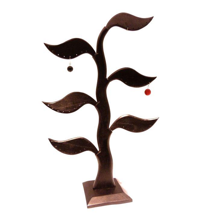 Présentoir boucles arbre six feuilles, Presentoirs, Naoli bijoux, Presentoir…
