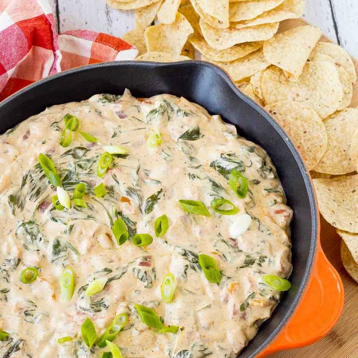 Mexican Spinach Dip Surprise party guests or family members with this fun and festive take on spinach dip. This Mexican spinach dip will be a new favorite!