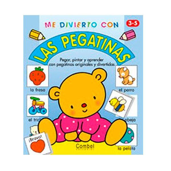 ME DIVIERTO CON LAS PEGATINAS Cuadernos de actividades variadas para pintar, aprender el vocabulario básico pintando los dibujos y completando con pegatinas PVP: 4,20 € http://www.babycaprichos.com/me-divierto-con-las-pegatinas.html