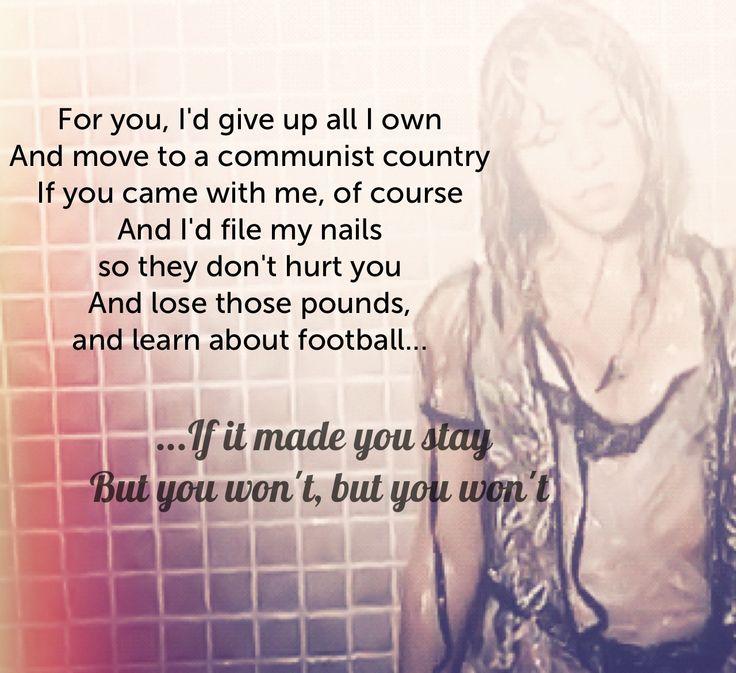 Shakira DonT Bother Lyrics
