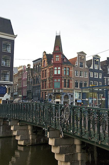 Amsterdam, Netherlands. Another city of canals, another site to see.