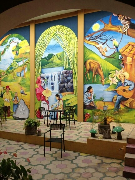 21 best murals nicaragua images on pinterest murals for Mural nicaraguense