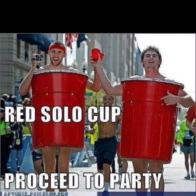 Red Cup Costume Red Solo Cup Halloween Costume