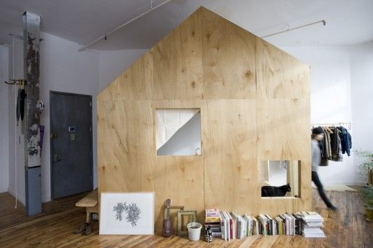 A Cabin in a Loft, 2009-present, photo by Shawn Connel  http://nykyinen.com/whos-who-terri-chiao/