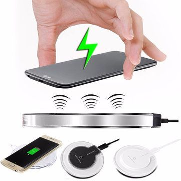 Wireless Battery Charger Pad & Receiver Charging Dock For Apple iPhone 7/7 Plus 6 6S Plus Sale - Banggood.com