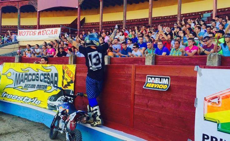 SEGOVIA SPAIN 🇪🇸 PLAZA DE TOROS  #pitbike #kankafmx #ride #backflip #ycfriding #ycf #ycffamily #etnies #bullpark13 #bullpark13barcelona #latinamerica #latinamericaexperience #freestyle #pitbikes #freestylepitbikeshows #riding #moto #jump #air #tattooboy #ink #lifestyle #extremsport #kankaextremsportsbcn  INSTAGRAM @kankafmx FACEBOOK page :  KANKA EXTREM SPORTS BCN