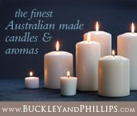 Buckley & Phillips - Candle e-newsletter banner ad. AGHA. April 2014.