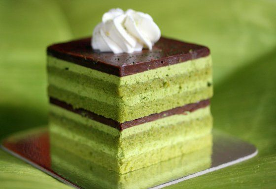 Green Tea Mousse Cake