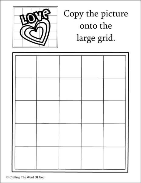 Love Copy The Picture (Activity Sheet) Activity sheets are a great way to end a Sunday School lesson. They can serve as a great take home activity. Or sometimes you just need to fill in those last …