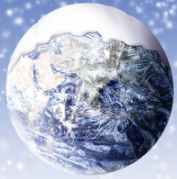 Snowball Earth --Three times in Earth's history, ice has covered the majority of the planet.