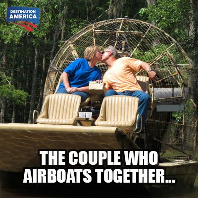 The secret to #marriage on the #bayou.  #BuyingtheBayou