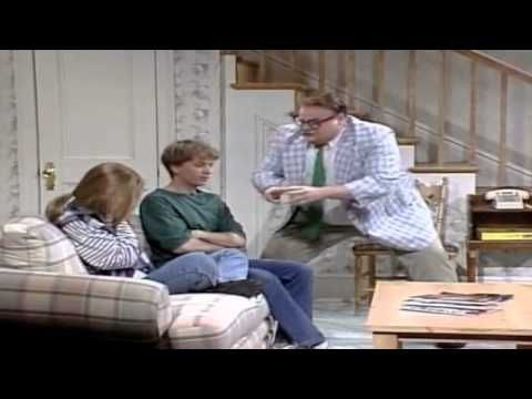 One of the best SNL skits EVER!! ———Matt Foley Motivational Speaker- I live in a van down by the river