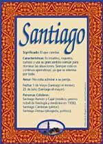 Origen y significado de Santiago