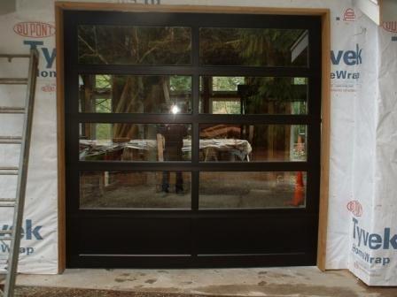 Modern Classic Garage Door 9 X 9 Yard Side