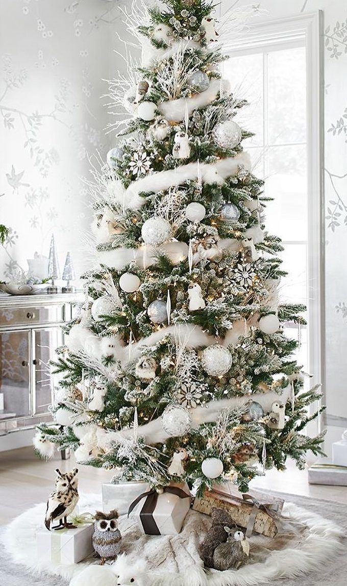 40 Awesome Christmas Tree Decoration Ideas For New Year 2019 Page 2 Of 40 Ladiesways Com Women Hairstyles Blog Christmas Tree Inspiration Beautiful Christmas Trees Pretty Christmas Trees