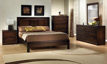 Bedroom Furniture-The Wilson Collection-Wilson Queen Bed