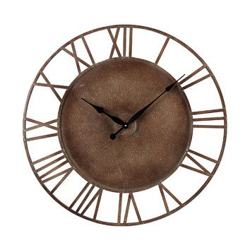"Sterling Industries Sterling Industries Oversized 31.5"" Roman Numeral Wall Clock"
