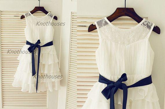 dentelle mousseline de soie cupcake robe fille fleur robe. Black Bedroom Furniture Sets. Home Design Ideas