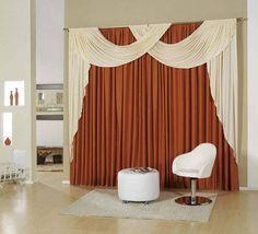 cortinas rojas con beige buscar con google