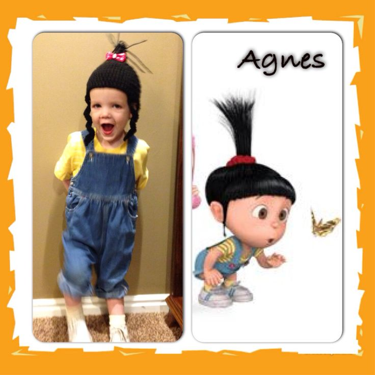 Agnes Gru Halloween Costume