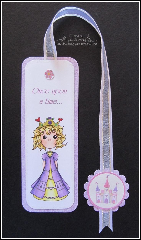 Pollycraft princess bookmark