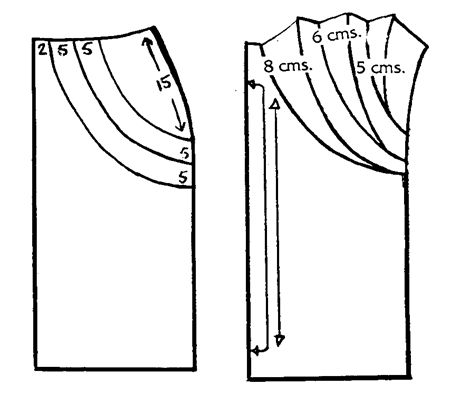 Falda drapeada de ambos lados pattern drape skirt