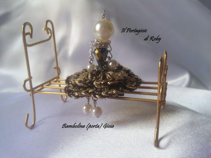 Bambolina (Porta) Gioia con gonnellina a balze