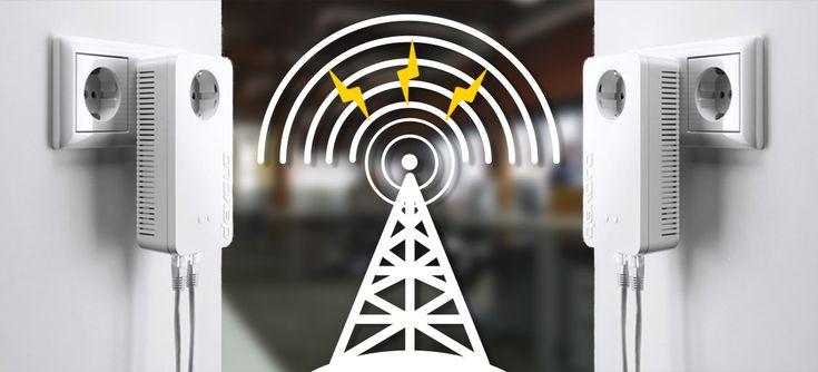Netzwerk und Internet, direkt aus der Steckdose: Vor allem für Privatleute, aber auch für…